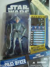 Star Wars Figure Police Officer Mandalorian New Cw 09 hasbro2010