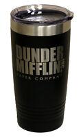 Dunder Mifflin Tumbler 20oz The Office TV Show Michael Scott Dundie official
