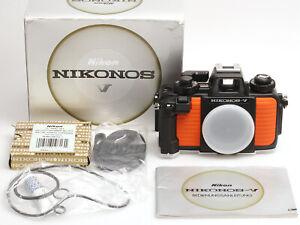 Nikonos V Gehäuse Orange