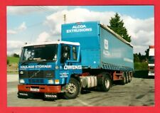 Lorry Truck Photo ~ Owens of Llanelli L541VBX - 1993 Volvo FL10: Curtainsider