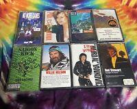 Vintage 90's Lot Of 8 Rock N Roll & Pop Cassette Tapes
