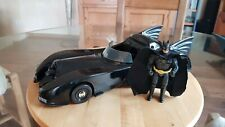 BATMOBILE + Action Figure Batman Custom - VINTAGE Toy Biz 1989 - 37cm