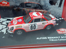 COCHE RENAULT ALPINE A110 1600S  RALLY MONTE CARLO CAR 1972 RALLYE MOSS CARLSSON