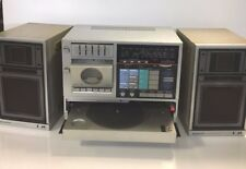 Sanyo C 20 Portable Music System Boombox - with record player