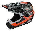 Troy Lee Designs SE4 Polyacrylite Carb MX Offroad Helmet Black