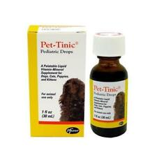 Pet-Tinic Liquid vitamin-mineral supplement for Dogs and Cats 1oz