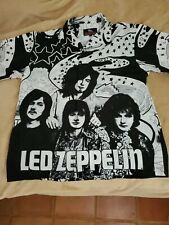"""Led Zeppelin - """"Dragonfly"""" Dress Button Up Shirt Licensed Xl"""