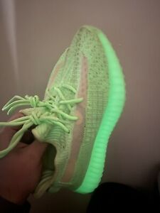 adidas Yeezy Boost 350 V2 Glow In The Dark Sz 5