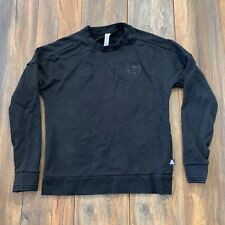 Auth MLS Orlando City SC Adidas Tango Pullover Sweatshirt CREWNECK BLACK OUT M
