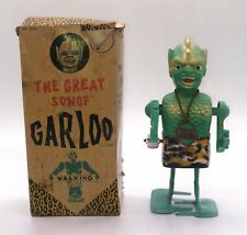 Ca 1960 The Great Son of Garloo Walking Wind Up Toy in Original Box