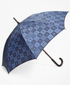 Brooks Brother 200th Anniversary Special-Edition Navy Stick Umbrella