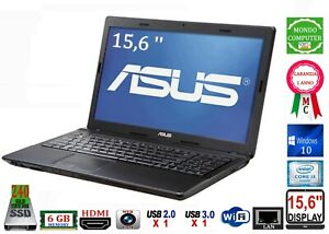PC PORTATILE ASUS X54H CPU INTEL CORE i 3 M2310  SSD 240  WINDOWS 10 _WEBCAM DAD