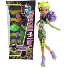 Monster High SKULTIMATE Roller Maze CLAWDEEN WOLF Roller Derby Fashion Doll NEW
