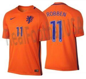 NIKE ARJEN ROBBEN NETHERLANDS HOME JERSEY 2016/17