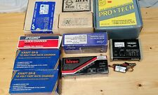 Lot R/C Battery Charger Qty-11 Old School Vintage New/Used Ni-Cd NiCad Chargers