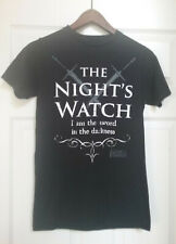 Game of Thrones Nights Watch tee shirt-  size small