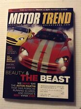 Motor Trend Magazine V-8 Sport Sedan Shootout November 2005 022317NONRH
