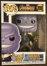 Thanos Funko POP Vinyl Marvel Avengers Infinity War #289
