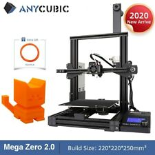 More details for new! anycubic mega zero 2.0 3d printer large printing size magnetic printing bed
