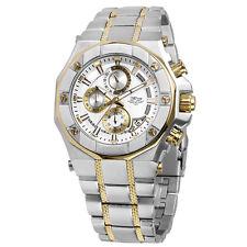 Daniel Steiger Phantom RX Two-Tone Mens Chronograph Quartz Watch With Warranty
