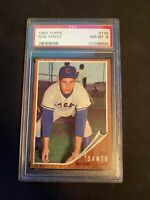 1962 Topps Ron Santo #170 PSA 8 NM-MT - Chicago Cubs - HOF