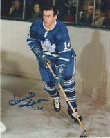 DAVID DAVE KEON SIGNED AUTOGRAPH TORONTO MAPLE LEAFS   PHOTO HHOF  PROOF #3