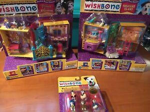 90s PBS Wishbone the Dog Playsets ~NOS~ Treasure Island — Prince & The Pauper