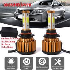 2X Car 9005 HB3 H10 LED Headlight Bulb Canbus Conversion Kit 6500K 240W 26000LM