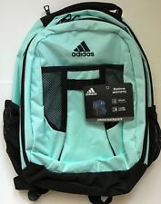 5c10cbf7358 ADIDAS Mint Green Atkins Backpack Unisex Medium Large Girls Boys School NWT