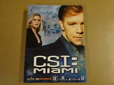 3-DISC DVD BOX / CSI : MIAMI - SEIZOEN 5 - AFLEVERING 5.13 - 5.24