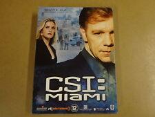 3-DISC DVD BOX / CSI : MIAMI - SEIZOEN 5 - AFLEVERING 5.13 - 5.24