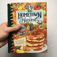 Hometown Harvest Cookbook Gooseberry Patch Real Cook Recipes Hard Cover Gift