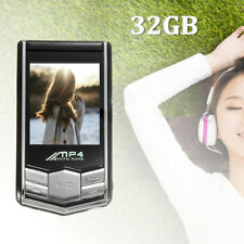 32GB MP4/MP3 Music Media Video Player LCD FM Radio Recorder + Earphone Latest