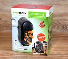 Elektrische Mini-Heizung von EASYMAXX Schwarz Timer Digitalanzeiger 300 W NEU *