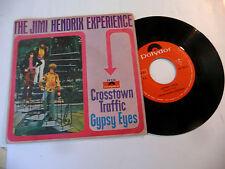 """JIMI HENDRIX""""CROSSTOWN TRAFFIC- disco 45 giri POLYDOR Italy 1968"""""""