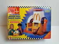 Mattel Vintage 1993 McDonald's Happy Meal Magic Frozen Fruit Snack Maker NIB