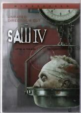 SAW IV (DVD) Tobin Bell - Scott Patterson - Betsy Russell NEW w/slipcover