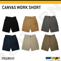 "Carhartt Men's 10"" Canvas Work Shorts Loose fit Utility Pocket Rugged Short B147"