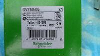 DISJONCTEUR  MOTEUR GV2  GV2ME06 : 1 - 1,6 A SCHNEIDER motor breaker