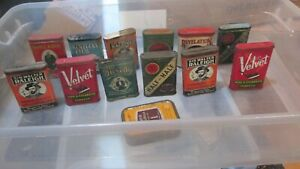 TOBACCO TIN COLLECTION