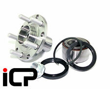 Front Wheel Bearing & 100PCD Drive Hub Flange With ABS Fits Subaru Impreza 92-00