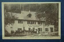 FRANCE 68 : RIMBACH-ZELL Ht Rhin - A la Truite renommée, Café Restaurant ZANGER