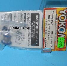 YOKOMO MR-4 ZS-630A Pulley Aluminum Anodized Blue Vintage RC Part