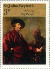 """GREAT BRITAIN -1973- Painting """"Self-portrait"""" by Sir Joshua Reynolds - MNH--#697"""