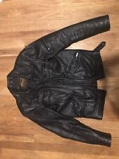 XS Real Leather Biker Style Jacket