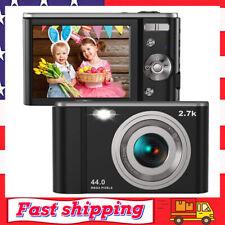 Digital Camera HD 2.7K 44 MP Vlogging Camera with Webcam with 2.88