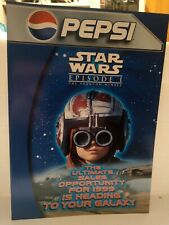 STAR WARS EPISODE 1 - PEPSI Pre-Launch Marketing Promotion for in-store displays