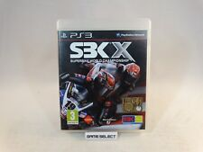 SBK X SUPERBIKE 2010 SONY PS3 PLAYSTATION 3 PAL EU EUR ITA ITALIANO COMPLETO