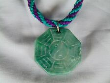 HANDWOVEN JEWELRY NECKLACE PENDENT, HONOLULU HAWAII