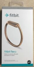 NEW AUTHENTIC Fitbit Flex 2 -Rose Gold Metal Accessory Bangle-Small S- Arm Band
